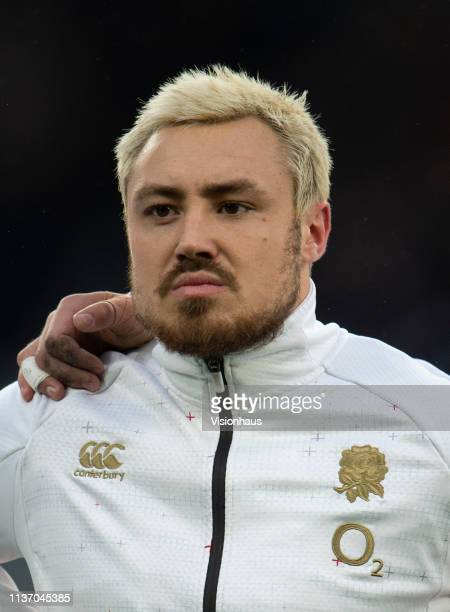 Jack Nowell of England before the Guinness Six Nations match between England and Scotland at Twickenham Stadium on March 16 2019 in London England