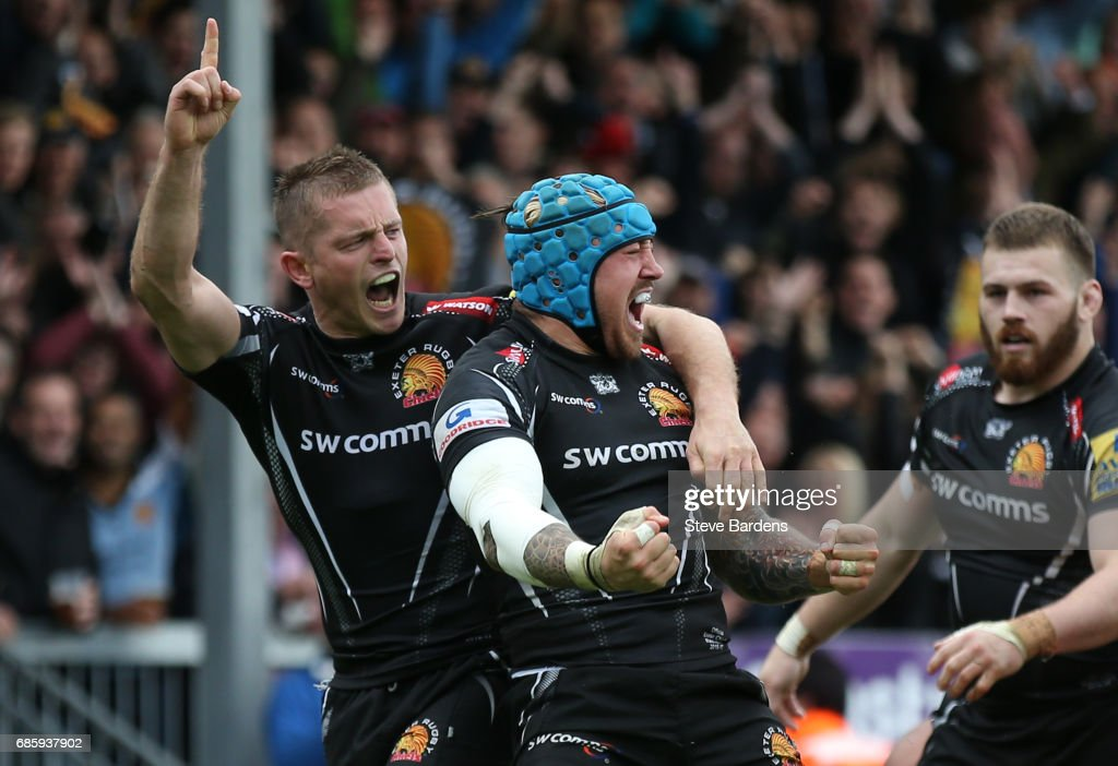 Exeter Chiefs v Saracens - Aviva Premiership Semi Final