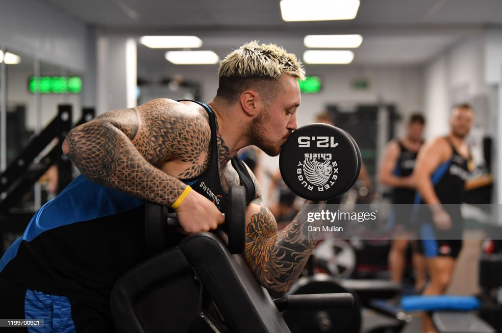 Exeter Chiefs Training Session : ニュース写真