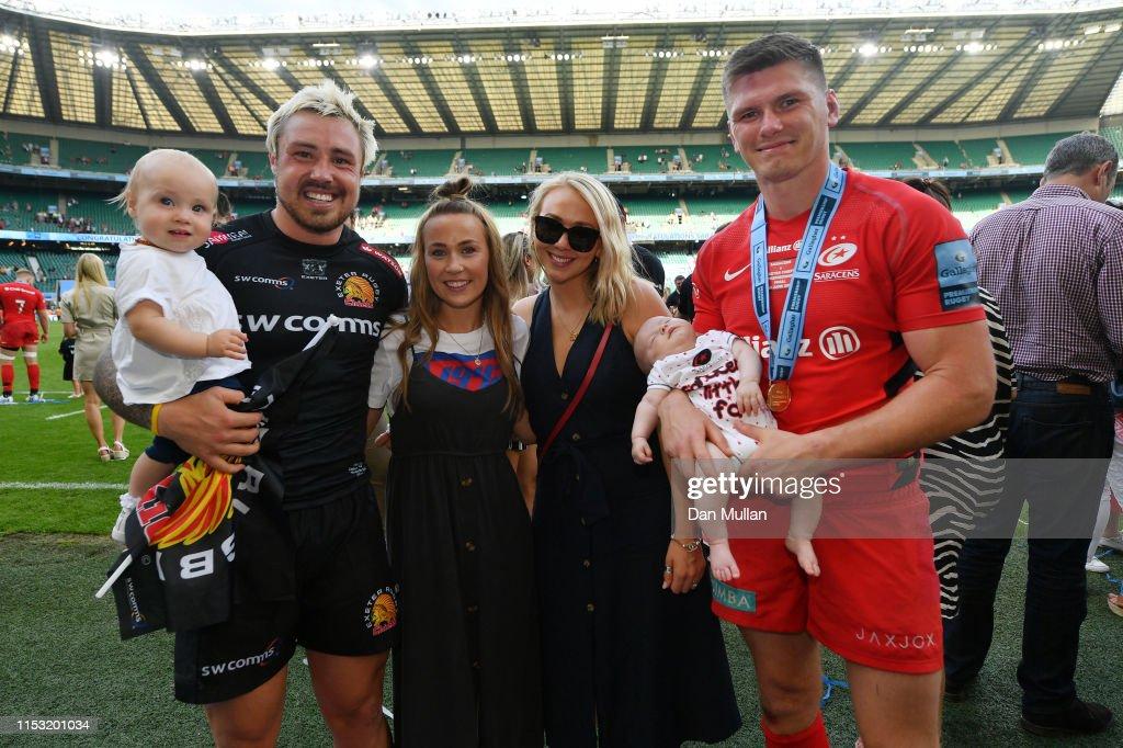 Exeter Chiefs v Saracens - Gallagher Premiership Rugby Final : ニュース写真