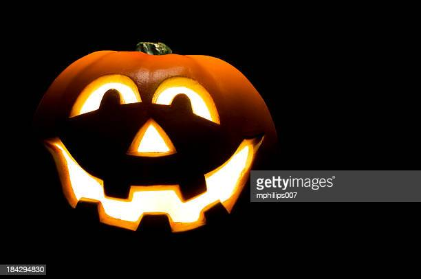 jack o lantern - halloween lantern stock photos and pictures