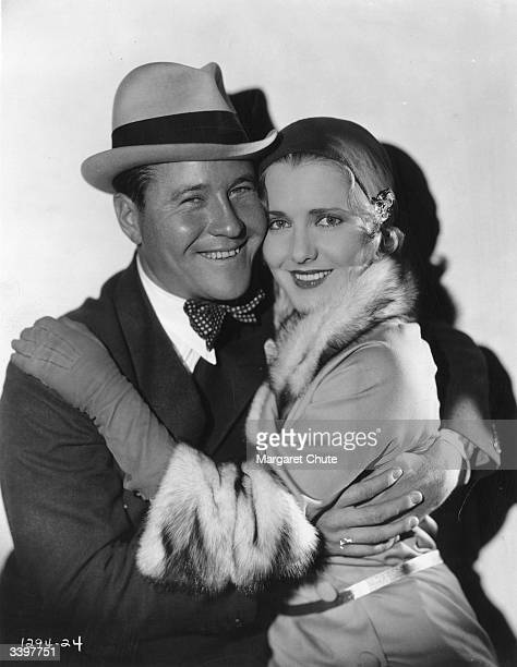 Jack Oakie plays 'Cyclone' Case and Jean Arthur plays Sylvia Martine in the film 'Gang Buster' directed by A Edward Sutherland and produced by...