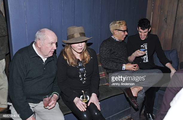 Jack O'Brien Stockard Channing Conrad Ricamora and Preston Sadleir attend Six Degrees Of Stockard Channing at The Lodge at The McKittrick Hotel on...