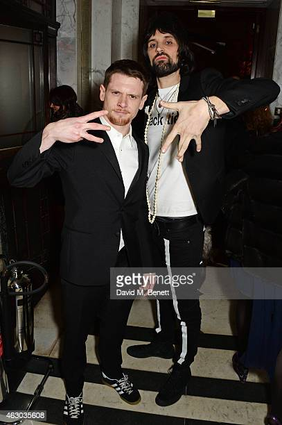 Jack O'Connell and Sergio Pizzorno attend The Weinstein Company Entertainment Film Distributor StudioCanal 2015 BAFTA After Party in partnership with...