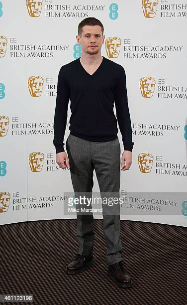 Jack O'Connell attends as the nominations are announced for the EE Rising Star Award at BAFTA on January 7 2015 in London England The winner will be...