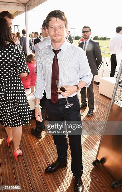 Jack O'Connell attends the Audi Polo Challenge 2015 at Cambridge County Polo Club on July 3 2015 in Cambridge England