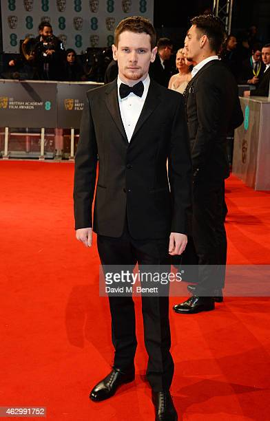 Jack O'Connell attends the EE British Academy Film Awards at The Royal Opera House on February 8 2015 in London England