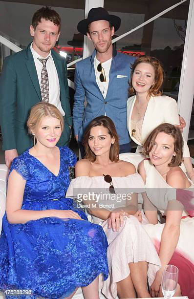 Jack O'Connell Hannah Arterton Jenna Coleman Harry Treadaway Holliday Grainger and Perdita Weeks attend day one of the Audi Polo Challenge at Coworth...