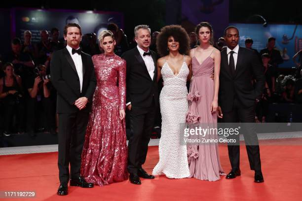 Jack O'Connell Kristen Stewart Director Benedict Andrews Zazie Beetz Margaret Qualley and Anthony Mackie walk the red carpet ahead of the Seberg...
