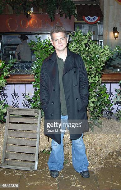 Jack Osbourne attends the after party for the UK Premiere of 'The Dukes Of Hazzard' at the Texas Embassy Cantina on August 22 2005 in London England
