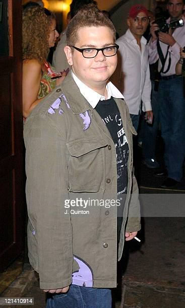 Jack Osbourne during Barrie Knight and Gary Wallis 40th Birthday Party at Villers Theatre in London, Great Britain.