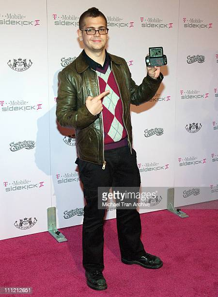 Jack Osbourne during T-Mobile Limited Edition Sidekick II Launch - Arrivals at T-Mobile Sidekick II City in Los Angeles, California, United States.