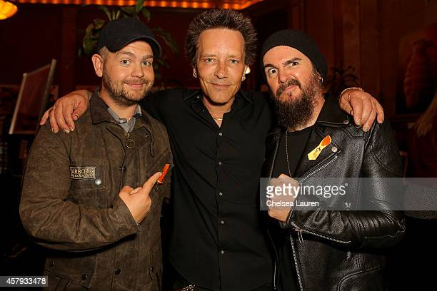 Jack Osbourne musician / artist Billy Morrison and musician Rob 'Blasko' Nicholson attend an evening of art with Billy Morrison and Joey Feldman...