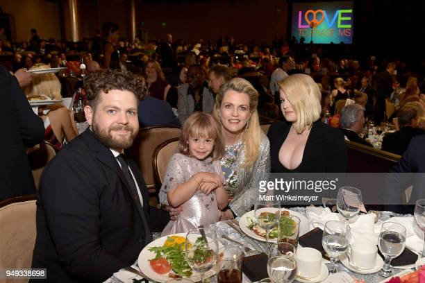 Jack Osbourne Pearl Osbourne Founder of Race To Erase MS Nancy Davis and Kelly Osbourne attend the 25th Annual Race To Erase MS Gala at The Beverly...