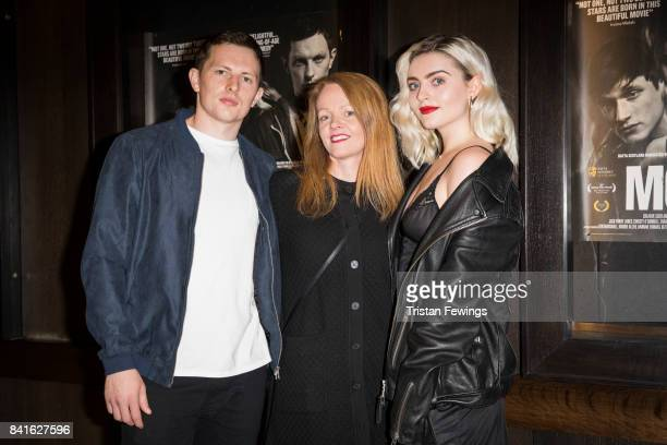 Jack Parry Jones producer Kathy Spiers and Tara Lee attend the 'Moon Dogs' photocall at Regent Street Cinema on September 1 2017 in London England