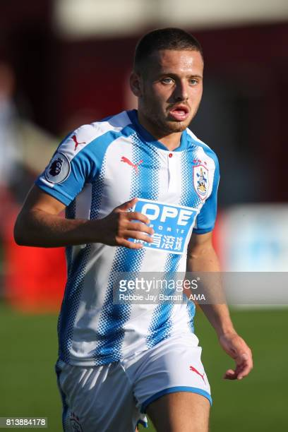 Jack Payne of Huddersfield Town during the preseason friendly match between Accrington Stanley and Huddersfield Town at Wham Stadium on July 12 2017...