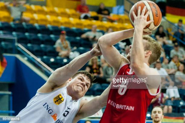 Jack Perry on the field during the basketball game Iran vs Canada during 2017 Mens U23 World Wheelchair Basketball Championship which takes place at...