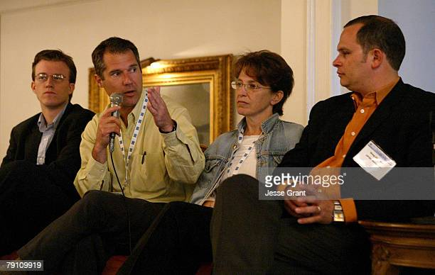 Jack Philbin Tom Parrish Elizabeth Sherman and Greg Clayman