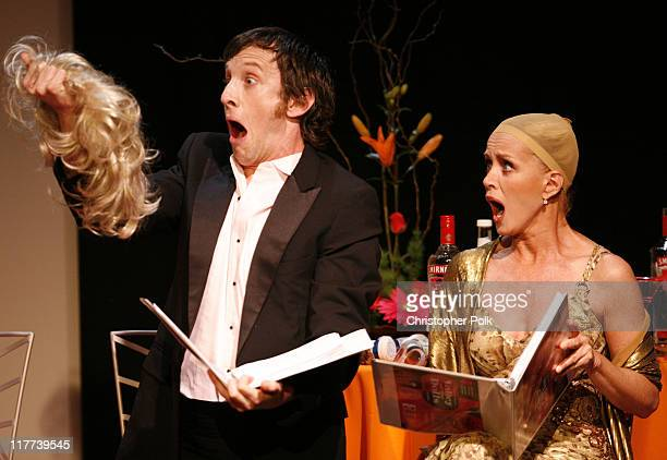 Jack Plotnick and Donna Mills during Valley of the Dolls Reading and DVD Debut Show and After Party at Renberg Theater in Hollywood California United...
