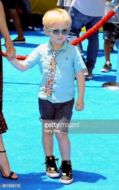 Jack Pratt attends the premiere of Columbia Pictures and Sony Pictures 'The Emoji Movie' at Regency Village Theatre on July 23 2017 in Westwood...