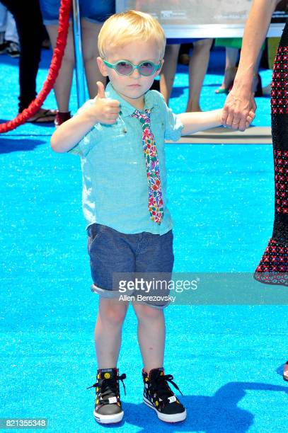 Jack Pratt attends the premiere of Columbia Pictures and Sony Pictures Animation's The Emoji Movie at Regency Village Theatre on July 23 2017 in...