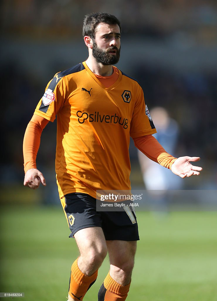Jack Price of Wolverhampton Wanderers during the Sky Bet Championship match between Wolverhampton Wanderers and Birmingham City on March 13, 2016 in Wolverhampton, United Kingdom.