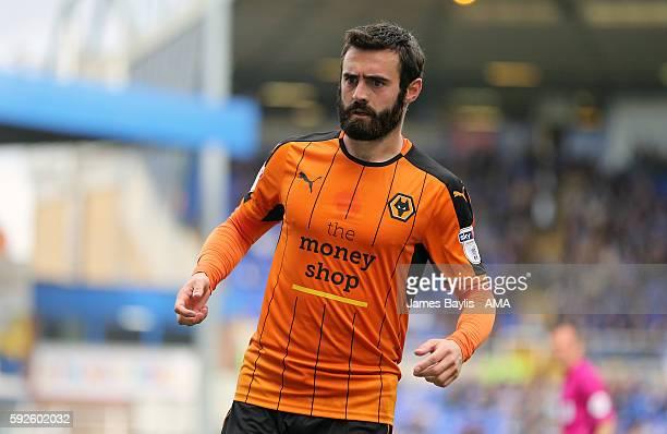 Jack Price of Wolverhampton Wanderers during the Sky Bet Championship match between Birmingham City and Wolverhampton Wanderers at St Andrews on...