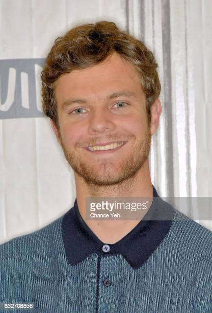 Jack Quaid attends Build series to discuss Logan Lucky at Build Studio on August 16 2017 in New York City