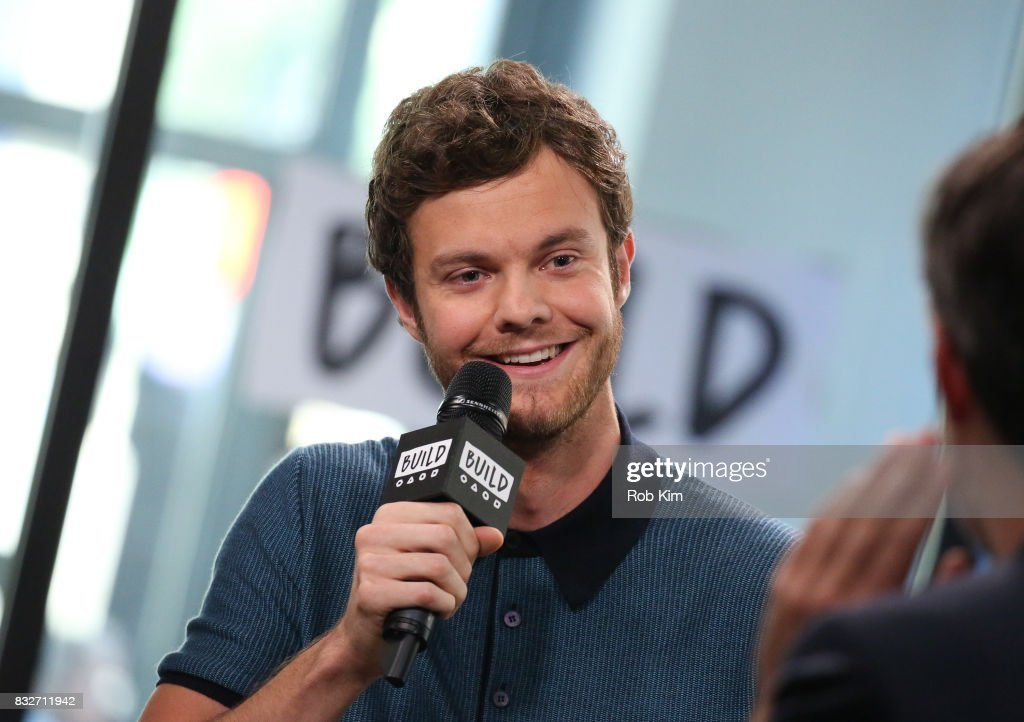 Jack Quaid discusses his new film 'Logan Lucky' at Build Studio on August 16, 2017 in New York City.