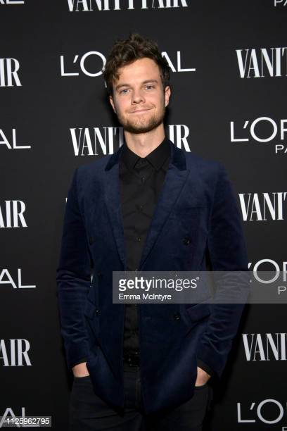 Jack Quaid is seen as Vanity Fair and L'Oréal Paris Celebrate New Hollywood on February 19 2019 in Los Angeles California