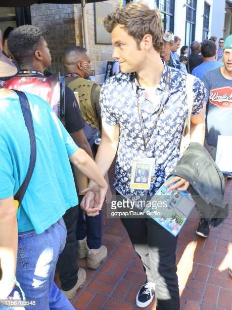 Jack Quaid is seen on July 19, 2019 in San Diego, California.
