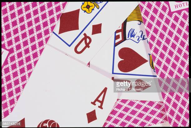 Jack, Queen, and Ace Playing Cards