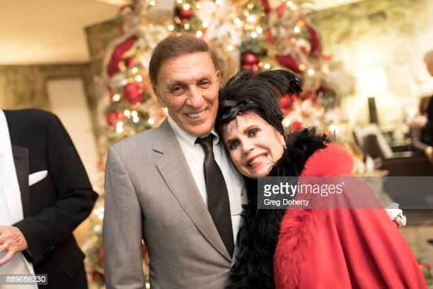 Jack Quinn and Stepahnie Hibler attend The Thalians Hollywood for Mental Health Holiday Party 2017 at the Bel Air Country Club on December 09 2017 in...