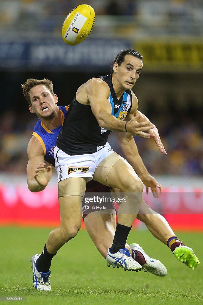 AFL Rd 7 - Brisbane v Port Adelaide