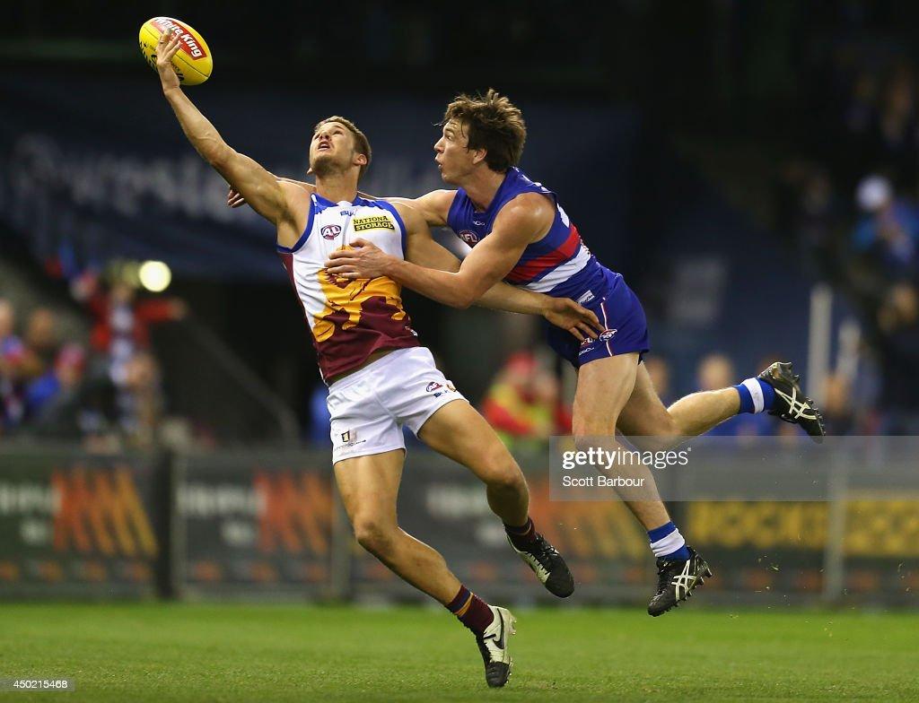 AFL Rd 12 - Western Bulldogs v Brisbane