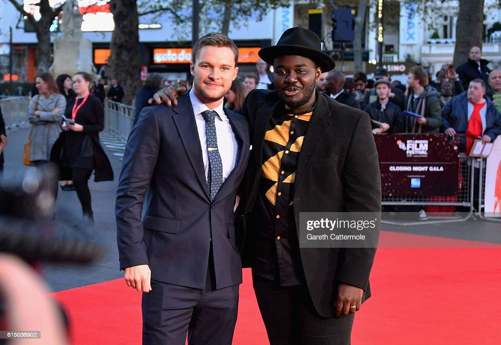 Jack Reynor and Babou Ceesay attend the 'Free Fire' Closing Night Gala screening during the 60th BFI London Film Festival at Odeon Leicester Square on October 16, 2016 in London, England.