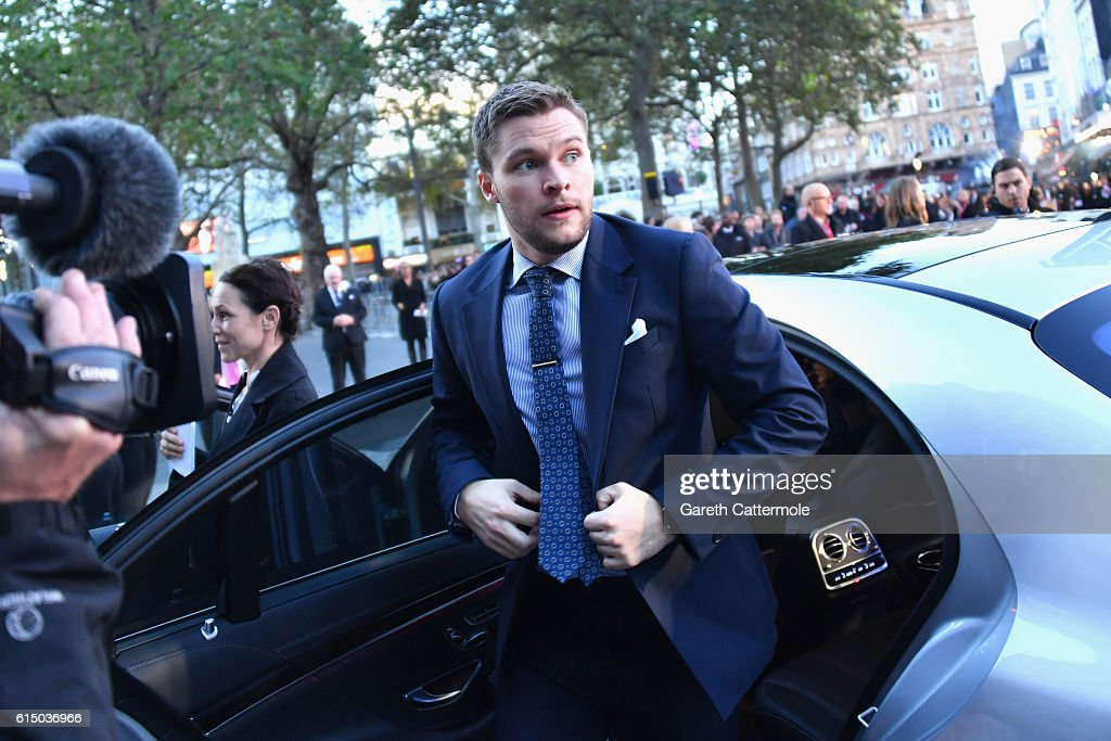 Jack Reynor attends the 'Free Fire' Closing Night Gala screening during the 60th BFI London Film Festival at Odeon Leicester Square on October 16, 2016 in London, England.