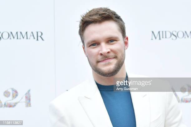 Jack Reynor attends the premiere of A24's Midsommar at ArcLight Hollywood on June 24 2019 in Hollywood California