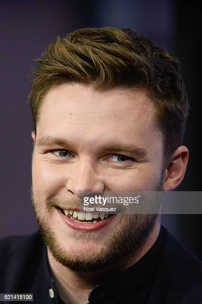 Jack Reynor visits Extra at Universal Studios Hollywood on April 15 2016 in Universal City California