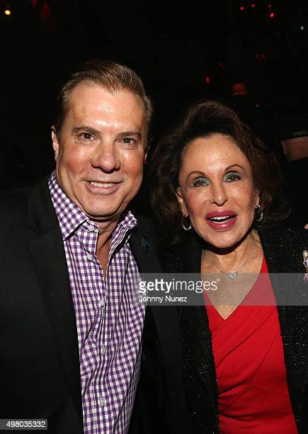 Jack Rich and Nikki Haskell celebrate Jack Rich's birthday at Avenue on November 19 in New York City