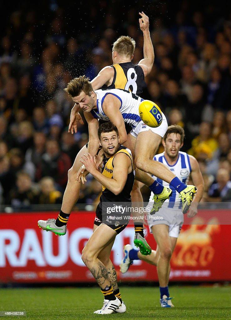 AFL Rd 23 - Richmond v North Melbourne : News Photo