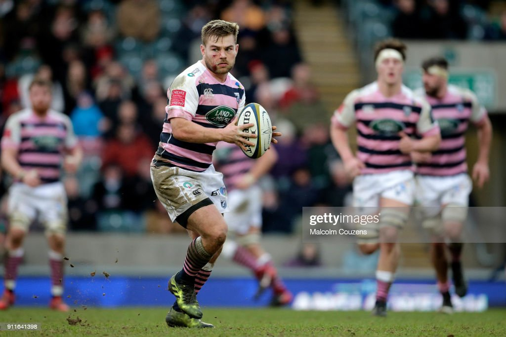 Leicester Tigers v Cardiff Blues - Anglo-Welsh Cup : News Photo