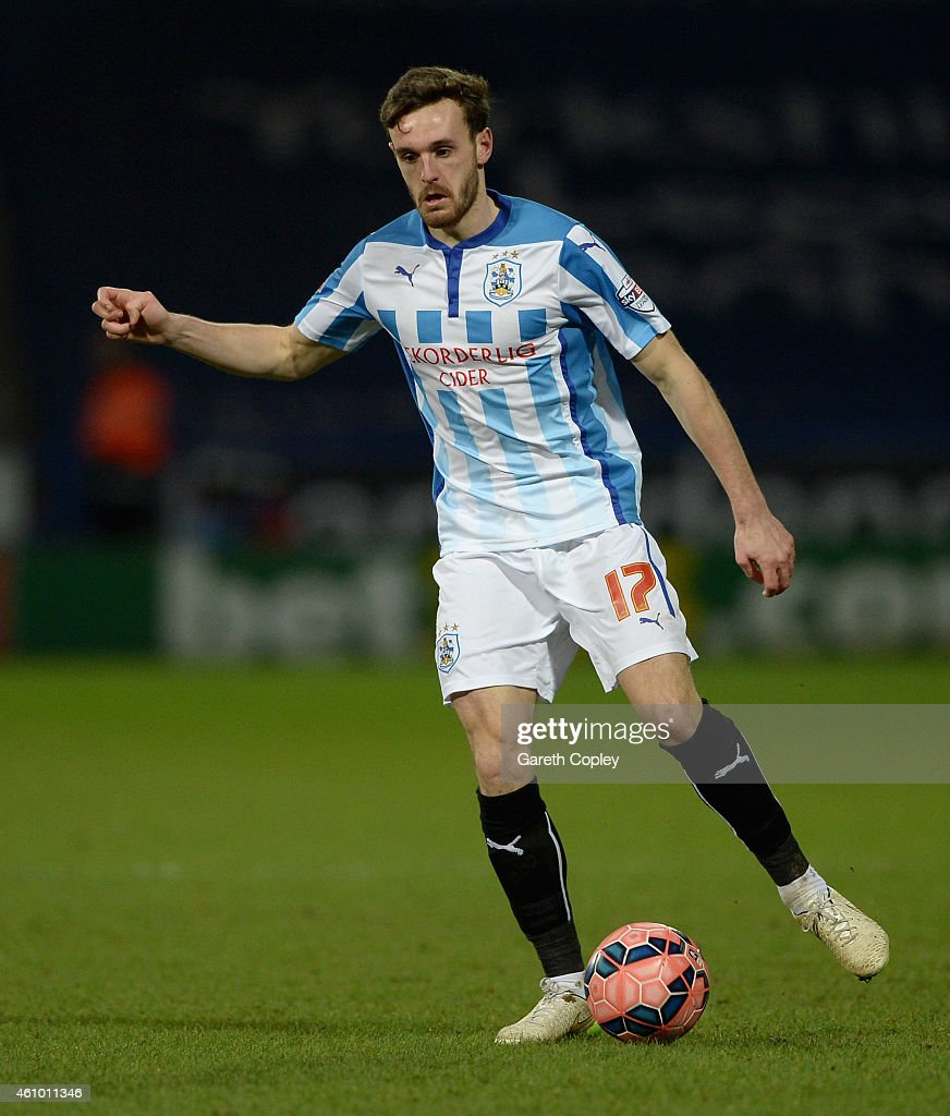 Jack Robinson of Huddersfield during the FA Cup Third Round match between Huddersfield Town and Reading at Galpharm Stadium on January 3, 2015 in Huddersfield, England.