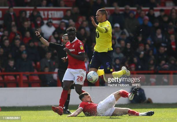 Jack Rodwell of Blackburn Rovers during the Sky Bet Championship match between Nottingham Forest and Blackburn Rovers at City Ground on April 13,...