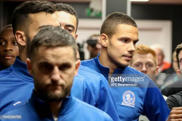 Jack Rodwell of Blackburn Rovers in the tunnel before the Carabao Cup Third Round match between AFC Bournemouth and Blackburn Rovers at Vitality...