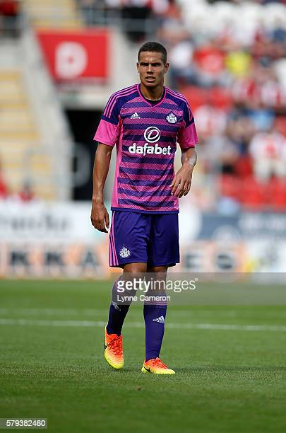 Jack Rodwell of Sunderland during the PreSeason Friendly match between Rotherham United and Sunderland at the AESSEAL New York Stadium on July 23...