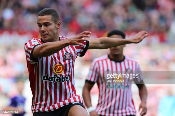 Jack Rodwell of Sunderland during the Sky Bet Championship match between Sunderland and Sheffield United at Stadium of Light on September 9 2017 in...