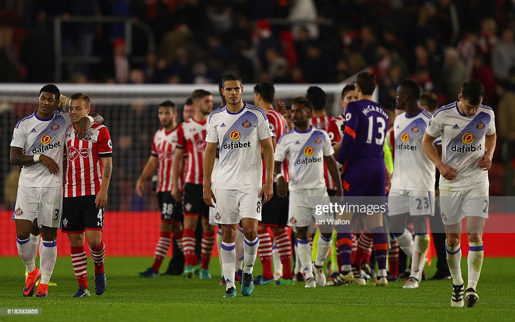 Southampton v Sunderland - EFL Cup Fourth Round : News Photo