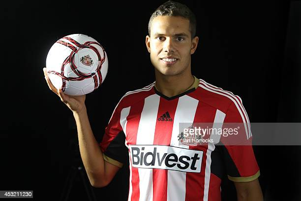 Jack Rodwell pictured at The Academy of Light after signing for Sunderland AFC on August 05, 2014 in Sunderland, United Kingdom.