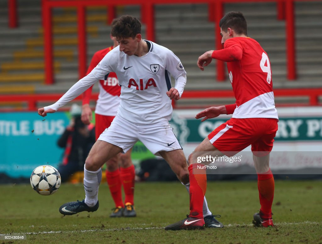 Tottenham Hotspur U19 v Monaco U19: UEFA Youth League : ニュース写真